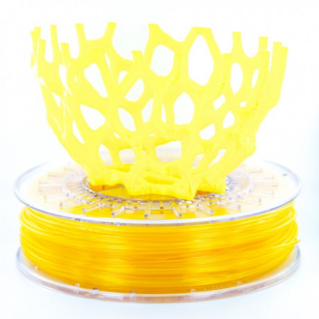 ColorFabb Transparent Gul PLA/PHA 750g 1.75mm Filament