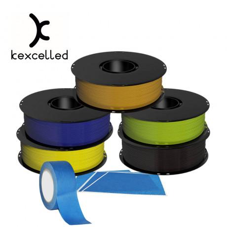 Box2 with 5pcs Kexcelled PLA 1kg 1.75mm Filament