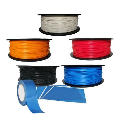 PLASTVERKSTAN - Box with 5pcs PLA 1kg 1.75mm Filament