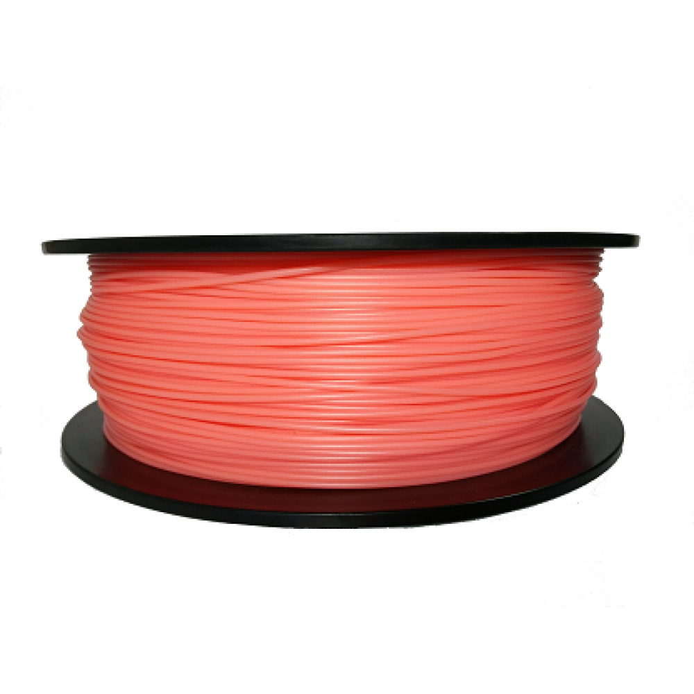 OrangeRed->White (By Temperature) PLA 1kg 1.75mm