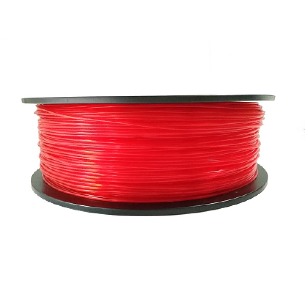 Transparent Red PLA 0.5kg 1.75mm